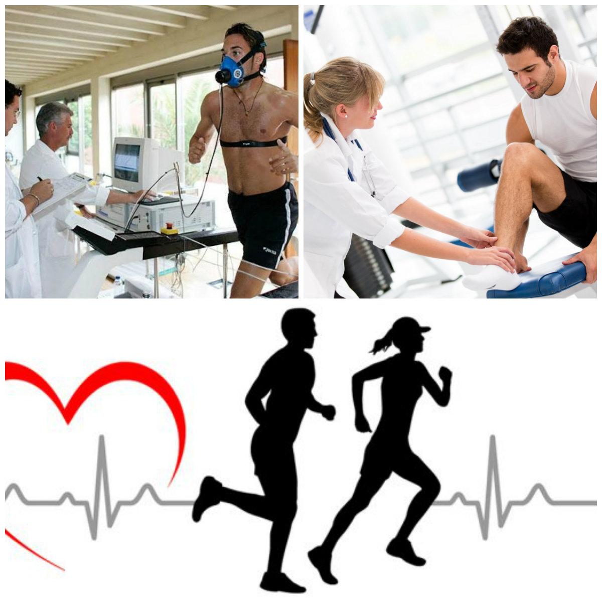 collage salud deportiva